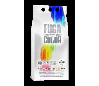 POLIMIN Затирка для швов Fuga Color CG1 2 kg, white (белый)