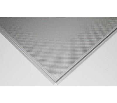 Потолочная плита Tegular 600х600 Zn RAL Perfo 3мм