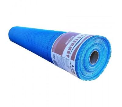 Стеклосетка штукатурная МАСТЕРНЕТ А-145 синяя, рулон 1м*50м