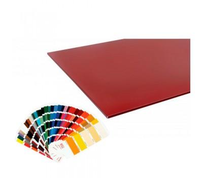 Потолочная плита металлическая матовая цвет по RAL толщина 0,5 Германия