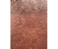 Потолочная плита металлическая ржавый цвет толщина 0,45
