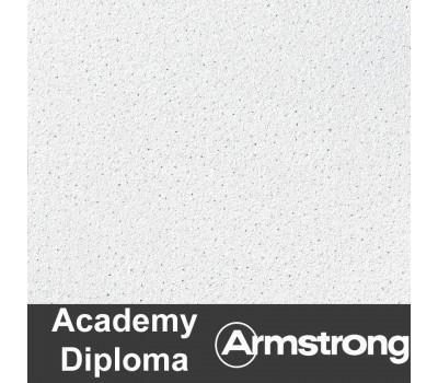 Плита ARMSTRONG Diploma Microlook 600х600х14мм /пачка15шт/