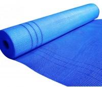 Штукатурная сетка 145 г/м2 WORKS Синяя, 5ммх5мм, рулон 1м*50м