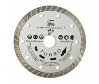 Алмазний диск по бетону Турбо Spitce 125 мм (22-806)