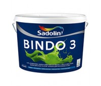 Sadolin Глубокоматовая краска для потолка и стен Краска BINDO 3 PROF белая 20 л