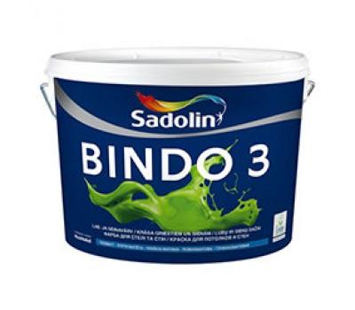 Sadolin Глубокоматовая краска для потолка и стен Краска BINDO 3 белая 10 л