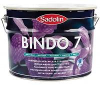 Sadolin Матовая моющаяся краска для стен и потолка Краска BINDO 7 PROF белая 20 л