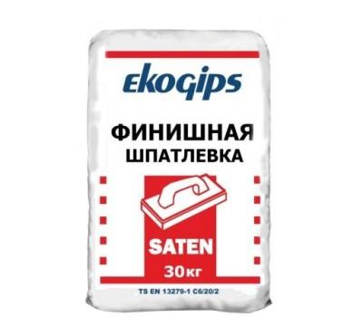 Шпаклевка SatenGips Экогипс, мешок 25 кг.