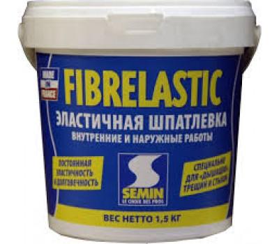 Шпаклевка готовая эластичная SEMIN FIBRELASTIC, 5кг