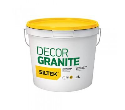 """SILTEK Dеcor Granite-Штукатурка декоративна """"Граніт натуральний"""" (Наповнювач: 1,5 - 2,0 мм)"""