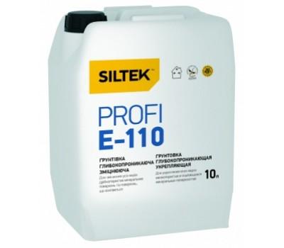 SILTEK E-110/10л Грунтовка Profi (глубокопроникающая, укрепляющая)
