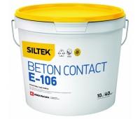 SILTEK Beton contact Е-106 Грунтовка адгезийная 10 л