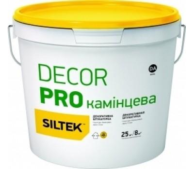 Siltek Decor Pro декоративна полімерна штукатурка камінцева 2,5 мм,база DА,25 кг (УКТЗЕД 3214900090)
