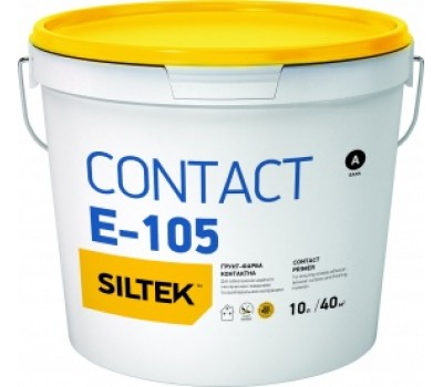 SILTEK E-105/5л Грунт-краска Contact , база ЕА