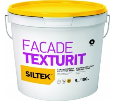 SILTEK Faсade Texturit Фарба структурна фасадна 4.5л