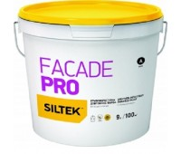 SILTEK Faсade Pro Silicon-Фарба силіконмодифікована фасадна 9л