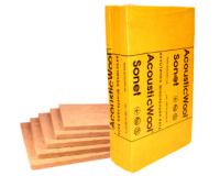 AcousticWool Sonet F (Флор) Профессиональная акустическая минеральная вата