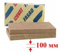 Минвата IZOVAT FASAD (100-125, 1000х 600х 50- 4 шт.)уп.2,4м2