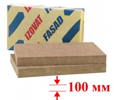 Минвата IZOVAT FASAD (100-125, 1000х 600х100- 2 шт.) уп.1,2м2